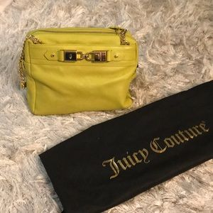 Authentic Juicy Couture Neon Bag